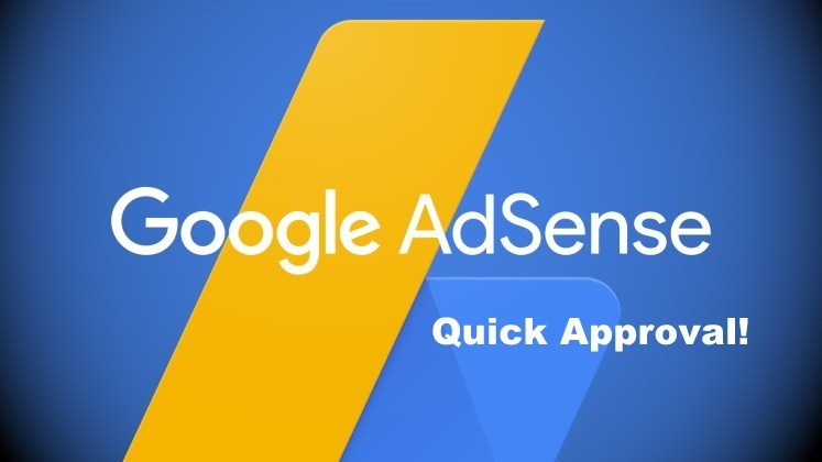 Google Adsense quick approval