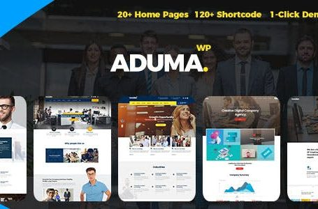 Aduma v1.2 - Consulting, Finance, Business WordPress Theme
