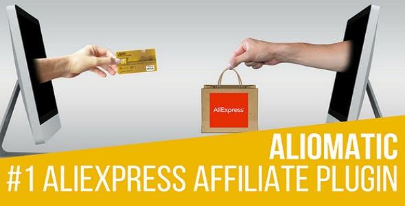 Aliomatic v1.0.8 - AliExpress Affiliate Money Generator