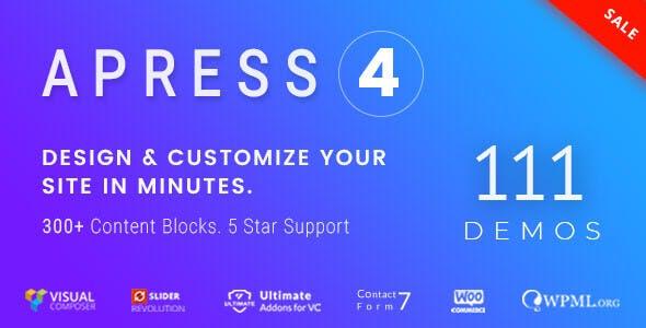 WPlocker-Apress v4.5.6 - Responsive Multi-Purpose Theme