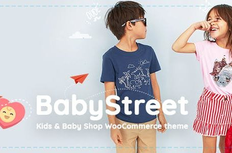 BabyStreet v1.2.0 - WooCommerce Theme
