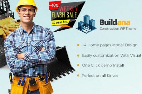 Buildana v1.3 - Construction & Building WordPress Theme