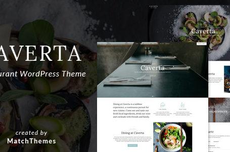 Caverta v1.2.3 - Fine Dining Restaurant WordPress Theme