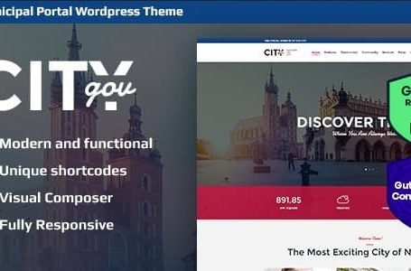 WPlocker-City Government & Municipal Portal v1.9 - WordPress Theme