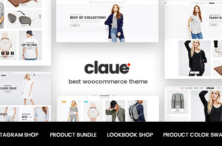 WPlocker-Claue v1.5.7 - Clean, Minimal WooCommerce Theme