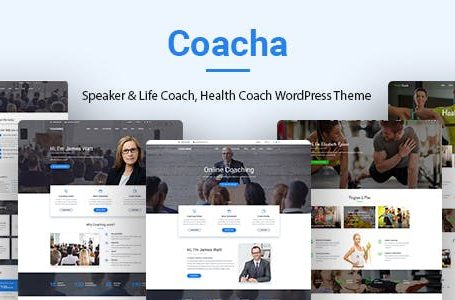 WPlocker-Coacha v1.1.7 - Health and Coaching WordPress Theme