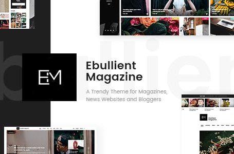 Ebullient v1.3.1 - Modern News and Magazine Theme
