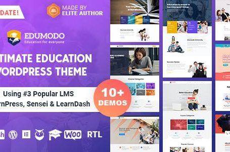 wplocker Edumodo v2.5.6 - Education WordPress Theme