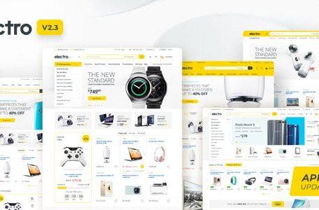 Electro v2.3.3 - Electronics Store WooCommerce Theme