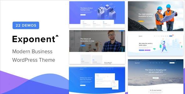 Exponent v1.1.4 - Modern Multi-Purpose Business Theme