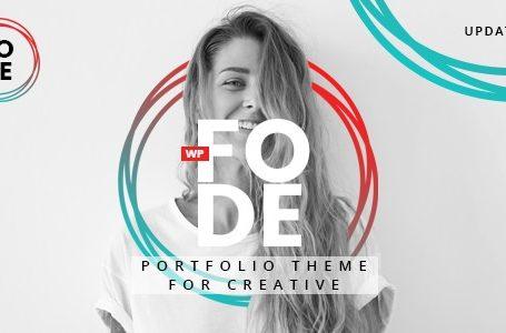 wplocker-Fode v1.0.1 - Portfolio WordPress Theme for Creatives!