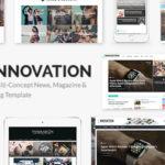 INNOVATION v5.5 - Multi-Concept News, Magazine & Blog Template