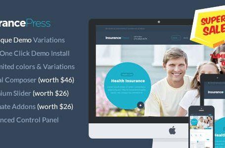 Insurance Press v1.0 - Insurance Agency WordPress Theme