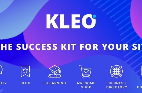 WPlocker-KLEO v4.9.4 – Next level WordPress Theme