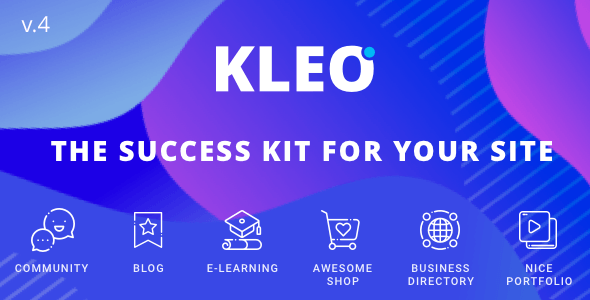 wplocker-KLEO v4.9.5.2 – Next level WordPress Theme