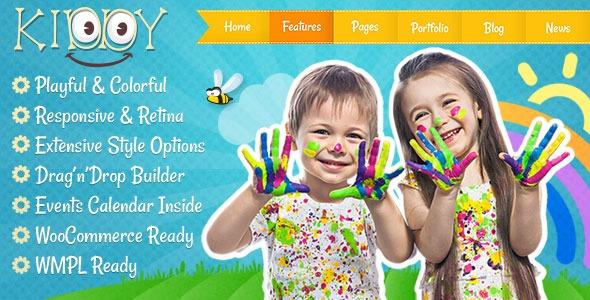 wplocker-Kiddy v1.2.0 - Children WordPress theme