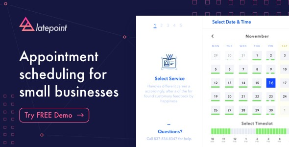 LatePoint v1.9.0 - Appointment Booking & Reservation plugin
