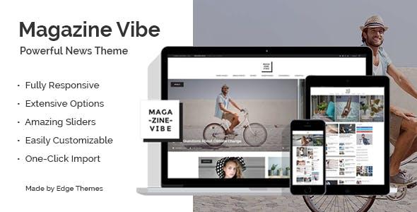 Magazine Vibe v1.8 - Magazine Theme