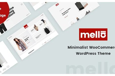 wplocker Mella v1.2.6 - Minimalist Ajax WooCommerce WordPress Theme