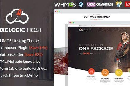 WPlocker-Pixelogic v2.0.0 - WHMCS Hosting, Shop & Corporate Theme