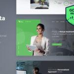 wplocker-Revirta v1.2.1 - Virtual Assistant WordPress Theme