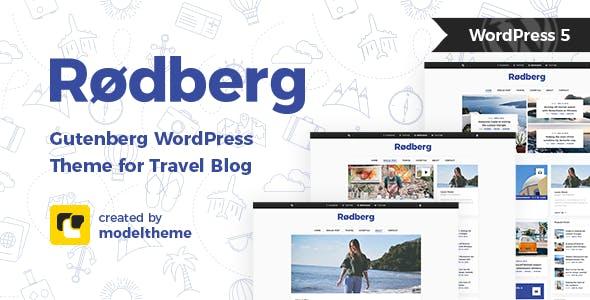 WPlocker-Rodberg v1.1.1 - Travel Blog WordPress Theme!