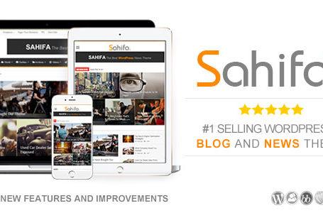 Sahifa v5.6.14 - Responsive WordPress News, Magazine wplocker