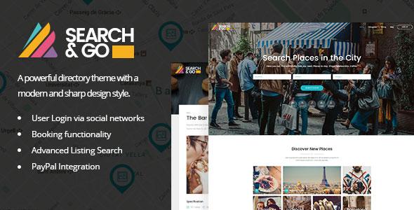 wplocker-Search & Go v2.3.5 - Modern & Smart Directory Theme