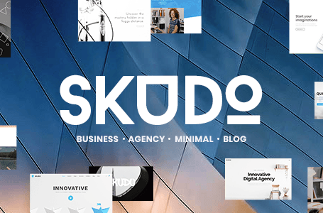 Skudo v1.3.3 - Responsive Multipurpose WordPress Theme