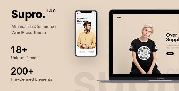 Wplocker-Supro v1.4.3 - Minimalist AJAX WooCommerce WordPress Theme