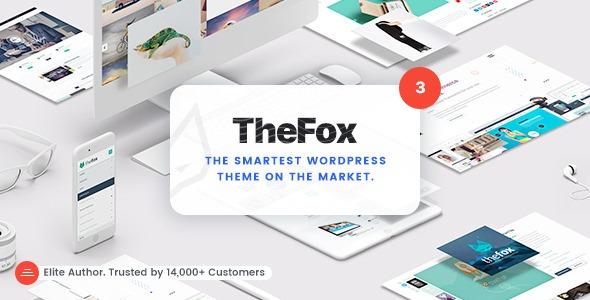 WPlocker-TheFox v3.6.9 - Responsive Multi-Purpose WordPress Theme