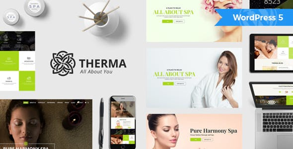 WPlocker-Therma v1.4.1 - Spa, Beauty, Cosmetic WordPress Theme!