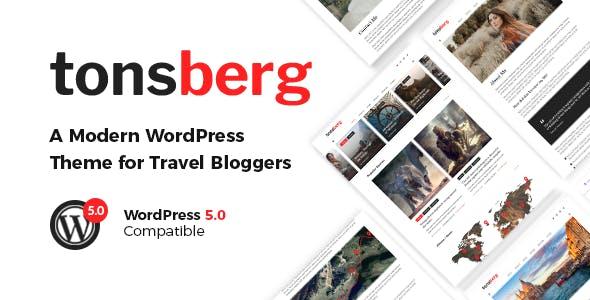 WPlocker-Tonsberg v1.1.1 - A Modern WordPress Travel Theme!