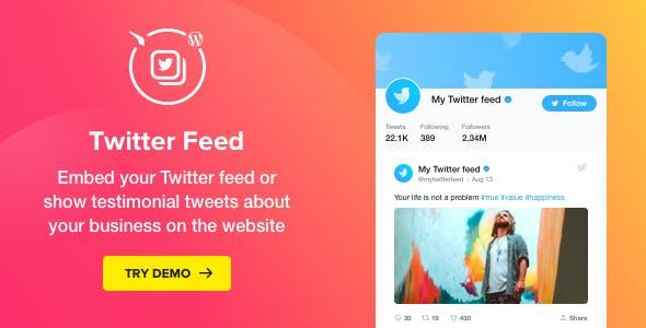 wplocker-Twitter Feed v1.2.0 - WordPress Twitter Plugin