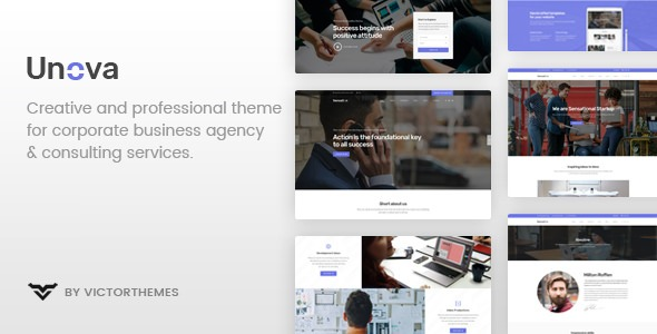 Unova v1.6 - Consulting Business WordPress Theme wplocker