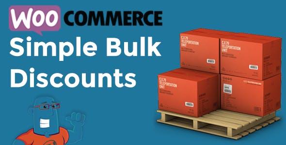 WooCommerce Simple Bulk Discounts v1.0.6