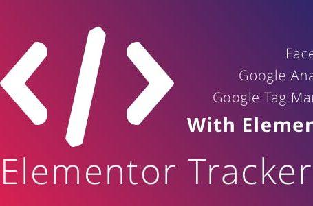wplocker-WordPress Elementor Tracker v0.1.2 Plugin