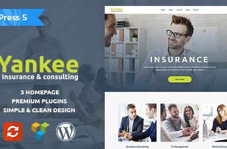 WPlocker-Yankee v1.1.1 - Insurance & Consulting WordPress Theme