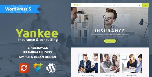 WPlocker-Yankee v1.1.1 - Insurance & Consulting WordPress Theme