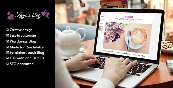 Zarja Blog v2.1 - WordPress Blog Theme
