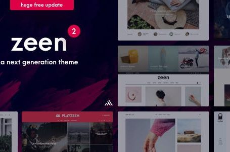 Zeen v2.1.0 - Next Generation Magazine WordPress