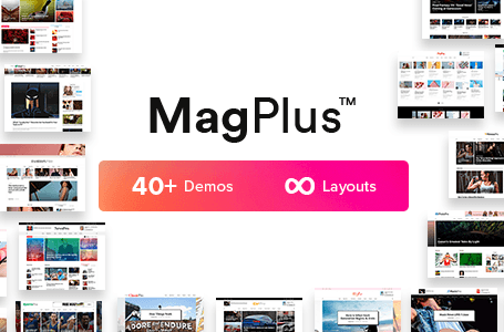MagPlus v3.1 - WordPress Magazine Theme - Free