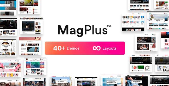 MagPlus v3.1 - WordPress Magazine Theme - Free