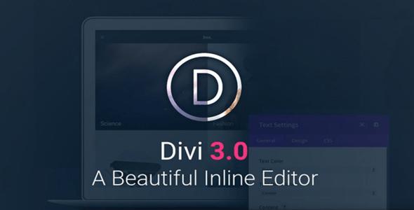 Divi v3.25.3 - Elegantthemes Premium Wordpress Theme