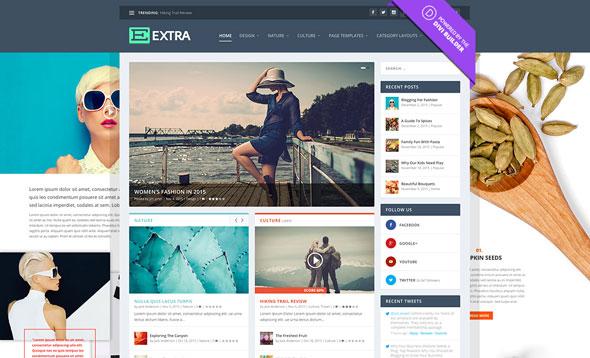 Extra v2.25.3 - Elegantthemes Premium Wordpress Theme