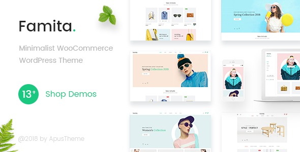 Famita v1.14 - Minimalist WooCommerce WordPress Theme free download