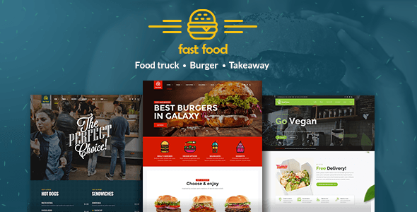 Fast Food v1.1.1 - WordPress Fast Food Theme