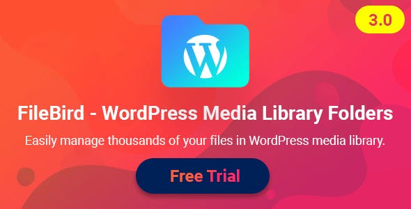 FileBird v3.1.1 wordpress plugin Free Download