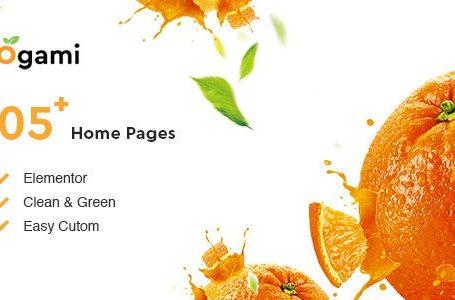 Ogami v1.3- Organic Store & Bakery WordPress Theme Free Download