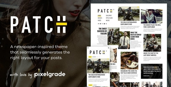 Patch v1.4.4 NewsPaper WordPress Theme Free Download